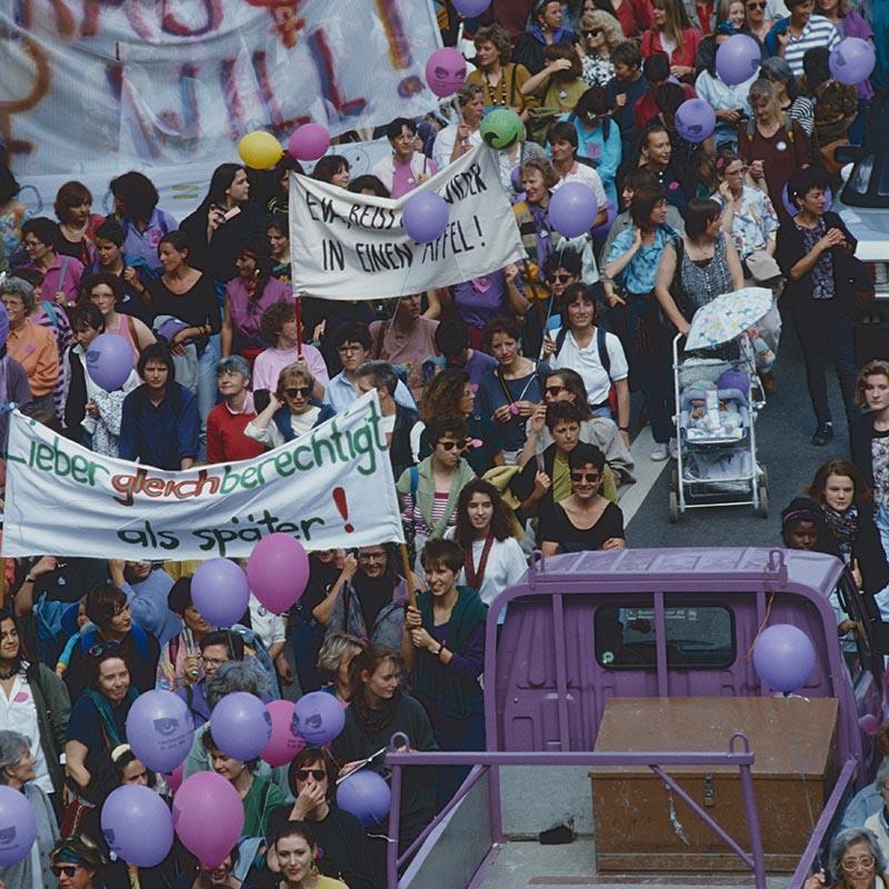 sciopero delle donne 1991
