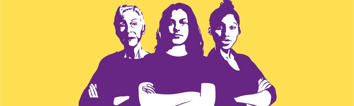 3 donne: Ordina la tua bandiera